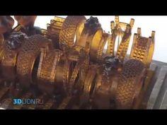 Печать ювелирных изделий и украшений на 3D принтере