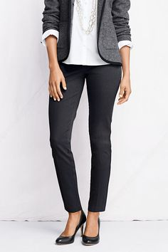 Women's Fit 2 Portico Side-zip Ankle Pants from Lands' End  $29.99