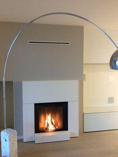 il fuoco protagonista by Puntogipa: foto, immagini e scheda progetto su Designbest ; Monoblocco Stûv microMega Fireplace, Decor, Home Decor