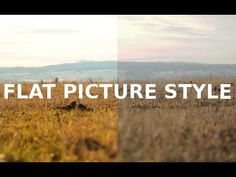 Flat Picture Style - Tutorial - YouTube