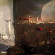 SPARTH - site for concept artist for video games...