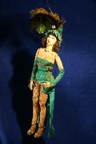 Antique Handmade Showgirl Marionettes
