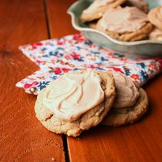 Vanilla and maple are the perfect combination in this cookie!