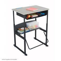 Safco Alphabetter Desk 28 X 20 Premium Top Without Book Box