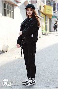 STREET FASHION : 힙합퍼 2014년 3월달 여자 스트릿패션 모음 : 네이버 블로그