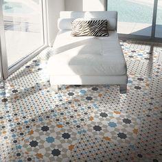 Renkli Geometric Decor Style 2 Harika Tiles 300x300x7.5mm Tiles