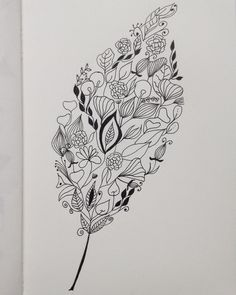 #flowleaf2015 #zentangle#doodle