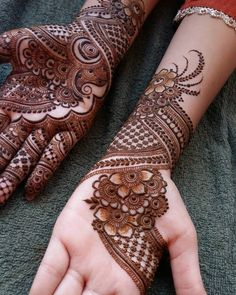 beautiful henna Mehandi Designs for brides-to-be Modern Mehndi Designs, Mehndi Design Photos, Henna Designs Easy, Beautiful Mehndi Design, Latest Mehndi Designs, Bridal Mehndi Designs, Mehndi Designs For Hands, Mehndi Images, Bridal Henna