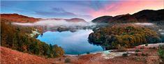 Dawn Colours of Grasmere - Canvas Print