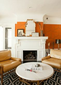 Off the Wall - Home Tour: Emily Meyer's House in Palo Alto - Lonny feature on Emily Meyer of Tea Collection
