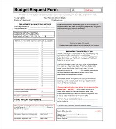 Financial Budget Templates  Free Sample Example Format