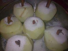ΜΑΓΕΙΡΙΚΗ ΚΑΙ ΣΥΝΤΑΓΕΣ: Mήλα ψητά με πορτοκάλι !! Doughnut, Food And Drink, Pudding, Apple, Fruit, Desserts, Recipes, Lovers, Cakes