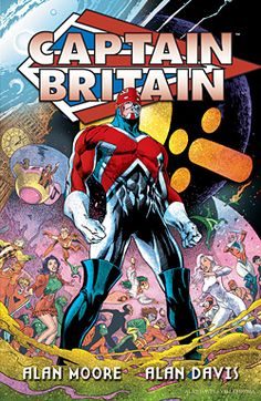 Captain Britain! I didn't even know this was a thing, but I am now dying of laughter! Some of the backstory is ridiculous.