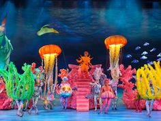 The Little Mermaid in The Netherlands Seacreatures (BroadwayWorld.com)