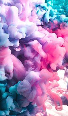 Colorful Clouds Wallpaper #iphonepics Tumblr Wallpaper, Wallpapers Tumblr, Smoke Wallpaper, Free Phone Wallpaper, Iphone Background Wallpaper, Pretty Wallpapers, Colorful Wallpaper, Aesthetic Iphone Wallpaper, Galaxy Wallpaper