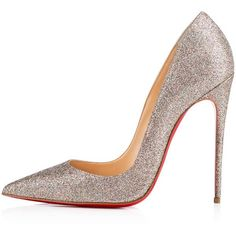 Christian Louboutin So Kate ($675) ❤ liked on Polyvore featuring shoes, pumps, heels, christian louboutin, high heel pumps, pointed-toe pumps, high heels stilettos, christian louboutin stilettos and sexy high heel pumps