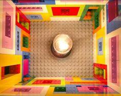 Rainbow-Hued oLE KiRk Lego Lamps Cast Fascinating Shadows Lego Lamps oLe Kirk – Inhabitat - Green Design, Innovation, Architecture, Green Building