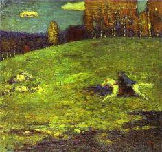 Wassily Kandinsky Der Blaue Reiter 1903.