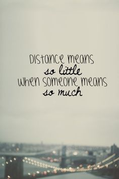 Life Quotes : Going The Distance: 5 Ways To Make Your Long Distance Relationship Work, Despite. - About Quotes : Thoughts for the Day & Inspirational Words of Wisdom Cute Quotes, Great Quotes, Quotes To Live By, Inspirational Quotes, Love Sayings, Top Quotes, Beautiful Quotes On Love, Quote On Love, Miss You Already Quotes