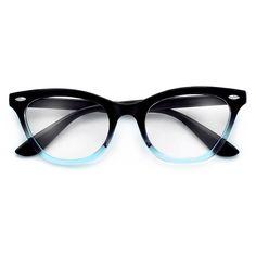 275e6f8f4d35 Vintage Inspired Cat Eye Silhouette Chic Trendy Reading Glasses