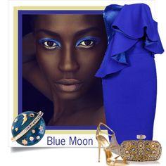 Blue Moon by conch-lady on Polyvore featuring moda, Posh Girl, Giuseppe Zanotti, Marchesa, Swarovski and John Lewis