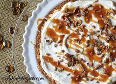 Pumpkin Ice Cream Pie | Gluten Free Spinner