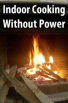 After Hurricane Sandy, I got a message asking about cooking without power when it's too cold to go outside, so here are a few options.
