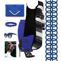 A fashion look from April 2016 by tonidanny featuring WearAll, Giuseppe Zanotti, Accessorize, Aeon and Ruby Rocks