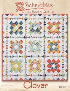 Clover Schnibbles quilt pattern by Miss Rosie's Quilt