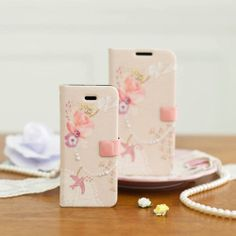 [HAPPY MORI] BIRD CHARM Diary Phone Case_Galaxy S3/S4/Note1,2_iPhone 4,4s/5,5s