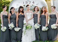 amsale bridesmaids blush - Google Search
