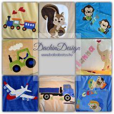Ajándék babáknak, gyerekeknek. Névvel ellátott takarók és párnák sokféle mintalehetőséggel. Kids Rugs, Design, Home Decor, Amigurumi, Decoration Home, Kid Friendly Rugs, Room Decor, Home Interior Design