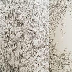 田代知子(Tomoko Tashiro) tashirotomoko.com  2018 It's my new work. #tomokotashiro #art #bali #drawing #pen  #illustration #田代知子 #絵画 #イラストレーション Illustration, Tokyo, Snow, Japan, Drawing, Artist, Outdoor, Outdoors, Tokyo Japan