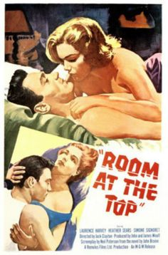 """MP896. """"Room at the Top"""" Movie Poster by Tom Jung (Jack Clayton 1959) / #Movieposter"""