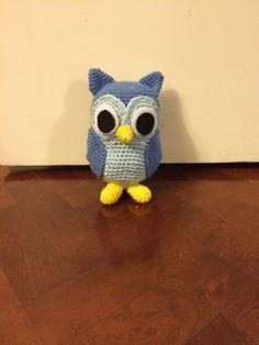 Buho Crochet. Lechuza. Barn Owls, Plushies, Tejidos, Colors