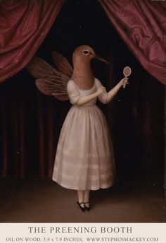 The Preening Booth by Stephen Mackey
