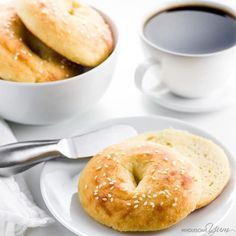 Low Carb Bagels with Almond Flour (Keto, Gluten-free) - 5 Ingredients