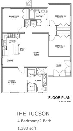 Mediterranean Floor Plan Catalina Home Plan Nice and small