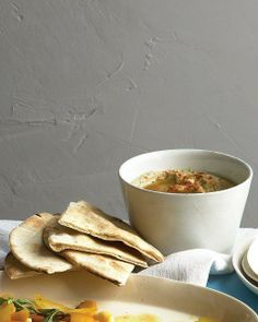 Game Day Salsas and Dips // Roasted Eggplant Dip Recipe