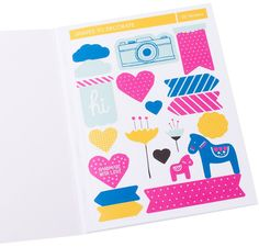 DIY stickers book Bold