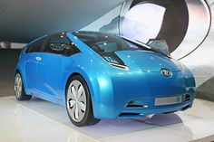 """TOYOTA'S HYBRID X COULD BE THE NEW PRIUS - Hybrid X just looks like a Prius -- from the front, from the back and in profile. It wears 20-inch wheels, but they're wrapped in meek 225/40 tires that are probably low rolling resistance. Plus, its wheelbase (110.2 in.) and length (177.0 in.) are both within a few inches of the current production Prius. """"Designed as a four-doo  http://www.ecomall.com/greenshopping/toyotax.htm"""