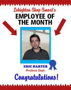 Employee of the month certificate template. Customize the title ...