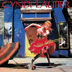 """No 487: Cyndi Lauper ,'She's So Unusual': This is top 100 material - the debut album from Lauper took the 80s by storm. """"Girls just want to have fun"""" and """"Time after time"""" are timeless/legend songs and the album is solid through and through. The best Cyndi Lauper album by far, that made her a household name and pop star over night. (4,5 stars)"""