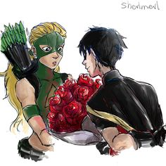 Traught by sherlmerl on DeviantArt Artemis, Batman, Young Justice, Nightwing, Dc Universe, Robin, Dc Comics, Fandoms, Marvel
