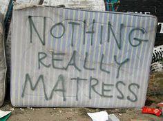 Nothing really matress