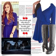 Lydia Martin 5x03 Dreamcatchers pt. 1 by saniday on Polyvore featuring mode