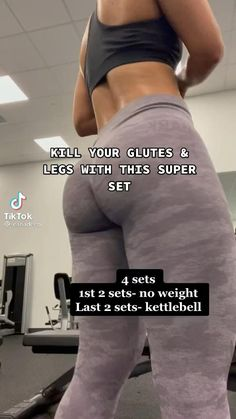 Leg And Glute Workout, Buttocks Workout, Full Body Gym Workout, Gym Workout Videos, Gym Workout For Beginners, Fitness Workout For Women, Gym Workouts, Crunch Workout, Workout Challenge