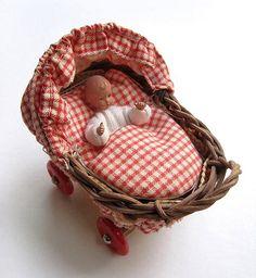 Puppenwagen klein