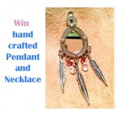 Win hand-crafted #Pendant and #Necklace ^_^ http://www.pintalabios.info/en/fashion-giveaways/view/en/3209 #International #Jewelry #bbloggers #Giweaway