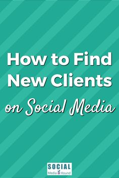 Ideas on how to find your clients on social media. Find out where your people hang out online, get to know them, and build your tribe! . . #socialmedia #socialmediamarketing #onlinmarketing #smallbusiness #petbusiness #socialnetworking #findyourtribe #socialmarketing #SocialMediaHound #socialmediamarketingtips #businessstrategy #onlinebusiness #marketingstrategy #growyourbusiness #socialmediatips